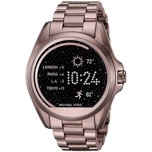 Sable Unisex Bradshaw Ion-plated Smart watch